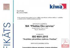 ISO 9001:2015 Системы менеджмента качества
