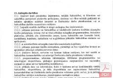 Personas datu apstrādes un informācijas drošības politika